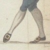 Detail of feet from A Long Minuet as Danced at Bath